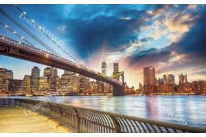 Фототапет мост изглед прекрасно небе