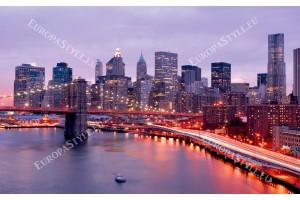 Фототапети крайбрежието на Манхатън красив изглед