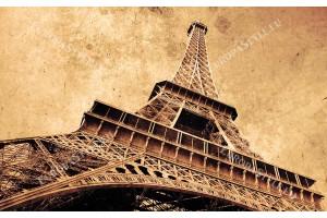 Фототапет Айфеловата кула винтидж стил