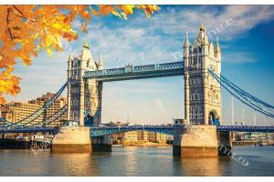 Фототапет моста Тауър в Лондон дневен изглед