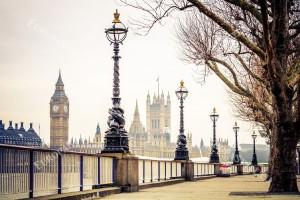 Фототапети красива гледка Лондон с пътека