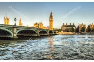 Фототапет красив изглед от моста в Лондон