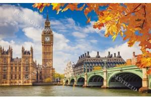 Фототапет гледка красив Лондон