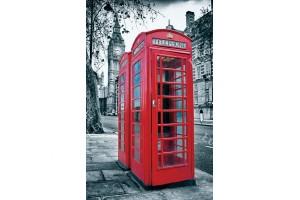 Фототапети изглед от Лондон телефонна кабина