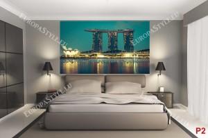 Фототапети гледка на хотел Marina Bay в Сингапур