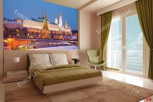 Фототапети красив изглед на Москва