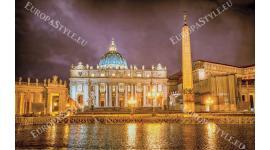 Фототапети гледка от Базиликата Ватикана Рим