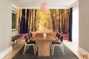 Фототапети есенна гора пътека 2