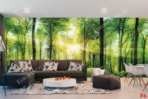 Фототапет изглед зелена гора 3