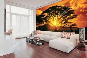Фототапет-50% размер 330 см-260 см - Африка