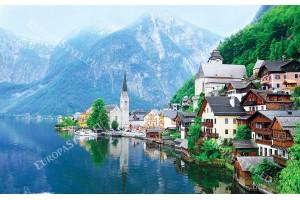 Австрия изглед езеро модел 2