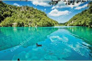 Фототапет изглед красиво езеро