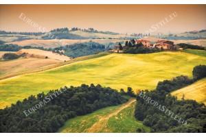 Фототапет изглед тоскански полета