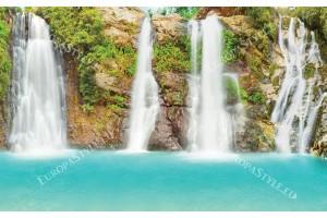 Фототапети красив горски водопад