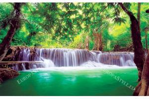 Фототапети изглед водопад в гората