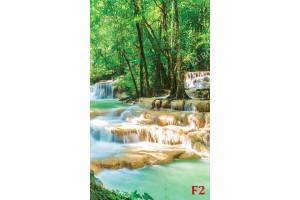 фото тапет водопад прекрасна гледка с водоскоци