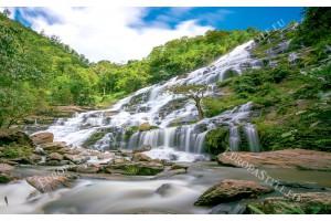 Фототапети планински водопад