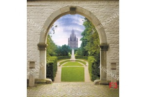 Фототапет колони в дворцова алея
