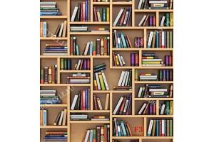 Фототапет-30% размер 248 см-260 см - Библиотека