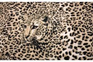 Фототапет леопардова текстура в бежово-кафяво