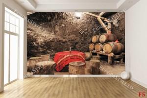Фототапет винарска изба български модел