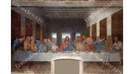 Фототапети каменна фреска-тайната вечеря