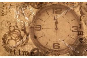 Фототапети композиция голям часовник ретро винтидж