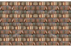 Фототапети библиотека със стари книги 2