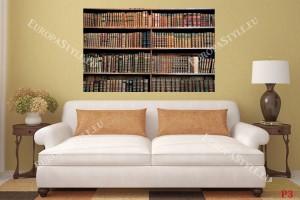 Фототапет ретро библиотека стари книги