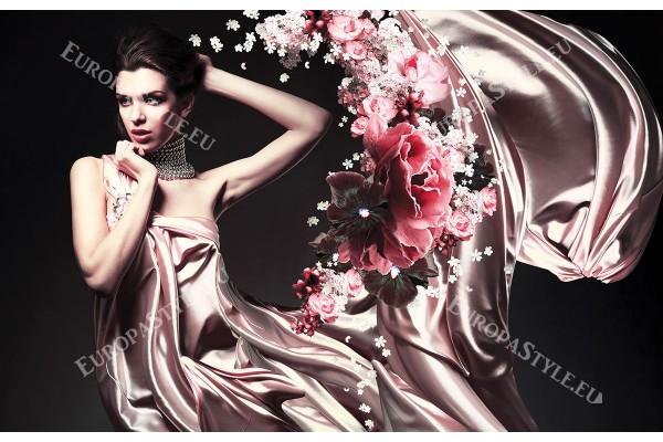 Фототапети арт модел жена абстрактен фон в 2 цвята