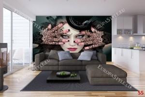 Фототапет арт модел на жена