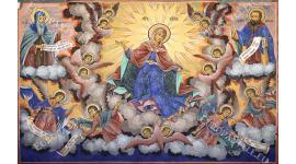 Фототапет религиозен църковен стенопис