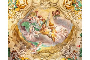 Фототапет религиозна класическа фреска за таван