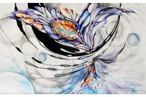 Фототапет рисувано арт пано