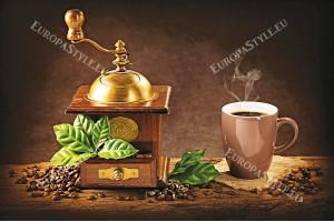 чаша кафе капучино с мелничка
