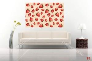 рисувани ягоди