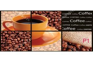 Фототапети колаж от кафе и чаша за кафе
