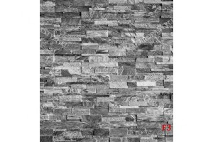 Фототапет камък реден имитация в светло сиво