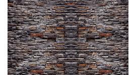 Фототапети имитация каменна стена тъмен камък