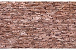 Фототапет имитация на камък стена натурален тъмен