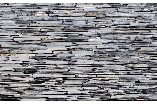 Фототапет имитация на камък стена натурален 2 сив