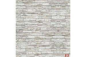Фототапет камък стена перфектна имитация бял натурален