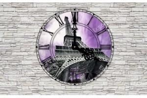 стена с часовник изглед Лондон , Париж , Венеция