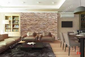 Фототапет имитация на стена от декоративен камък
