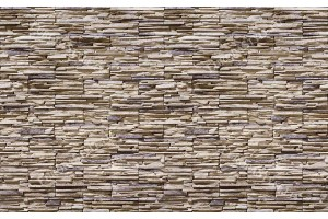 Фототапет имитация на стена от камък тип кокал в 2 цвята
