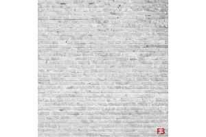 Фототапет имитация на сиво-бели тухли