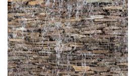Фототапет стена от камък с водопад