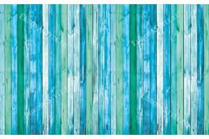 Фототапети  дървени греди в син и лилав цвят