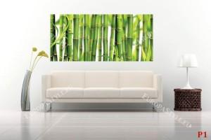 Фототапет зелен реден бамбук