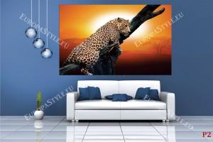 Фототапети леопард на дърво модел 3